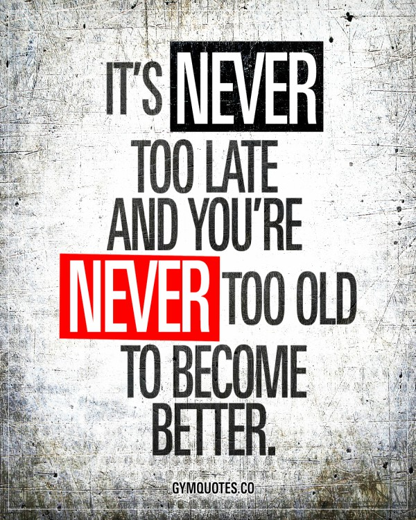 Its Never Too Late Motivational Speech Steemkr