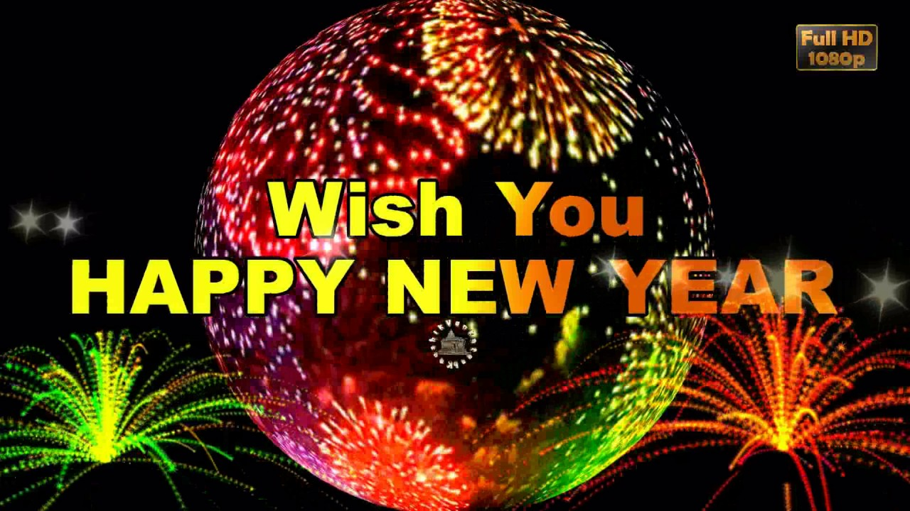 happy new year wish you all the best