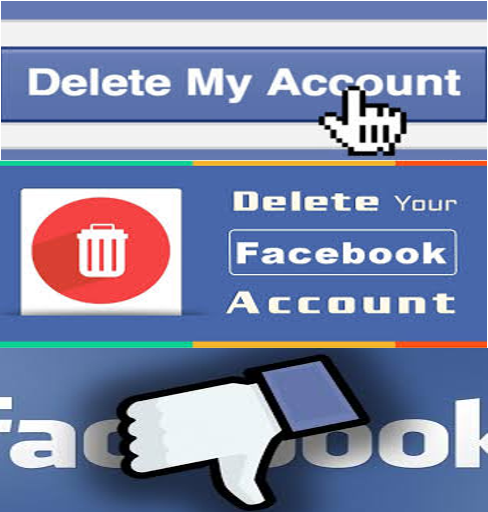 How to delete fuckbook account