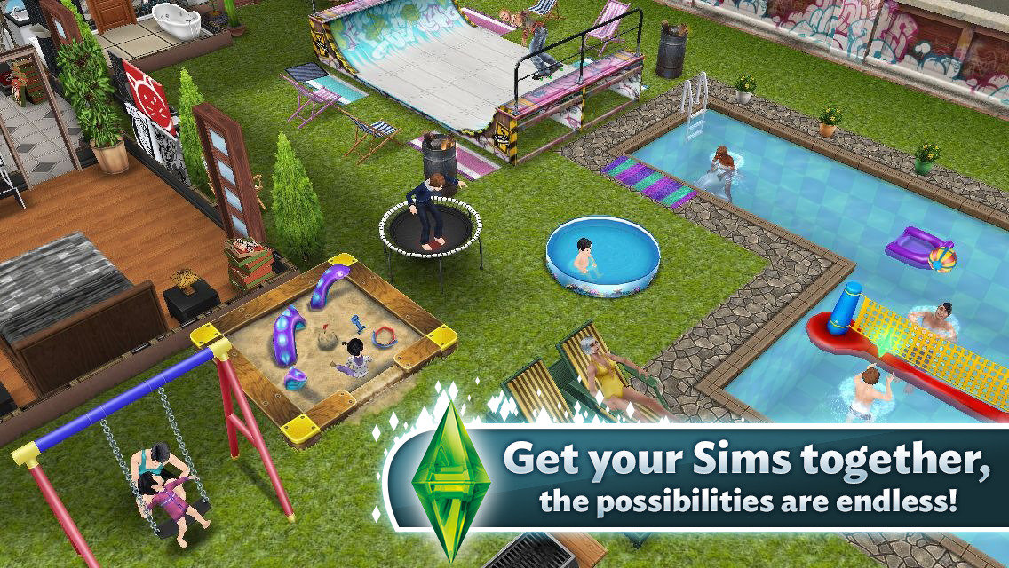 the sims freeplay soldi infiniti