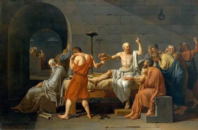 The Death of Socrates - Jacques-Louis David 1787.jpg
