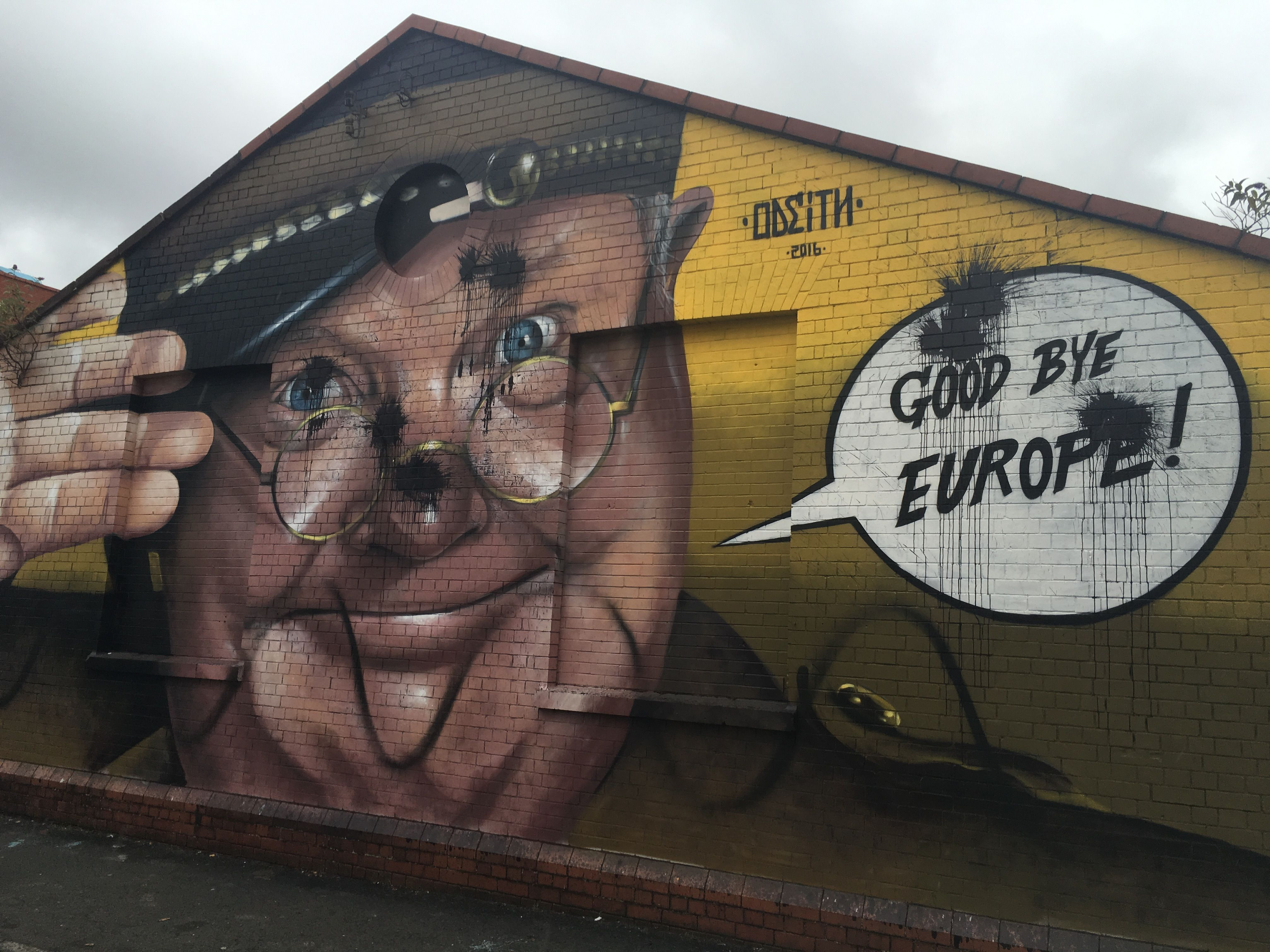 Image result for Brexit graffiti