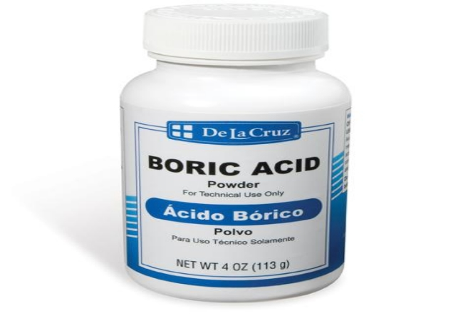 Acid boric vaginal