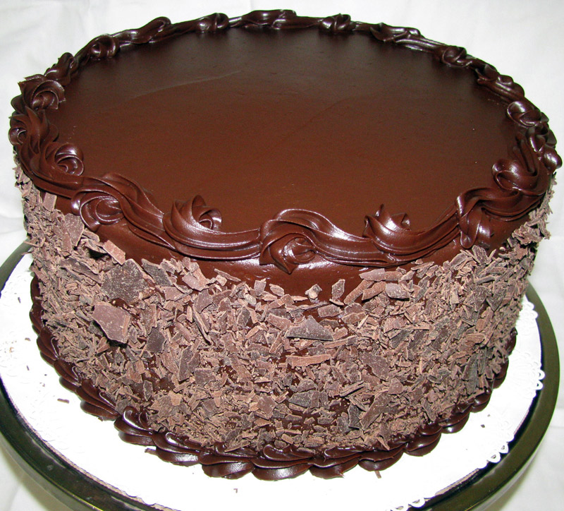 Double Layered Chocolate Truffle Cake Steemit