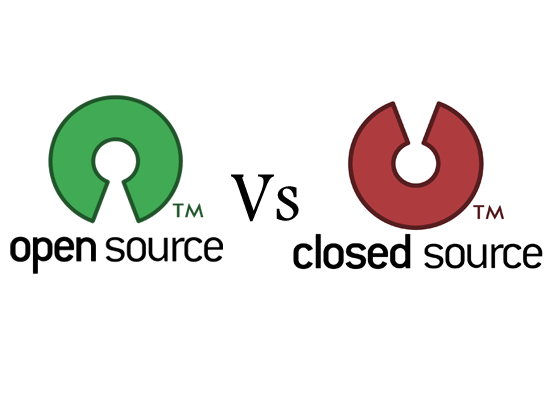 open source software versus closed source Open source vs closed source open source software open source software is made available under a license that allows you to make copies and pass them to anyone.