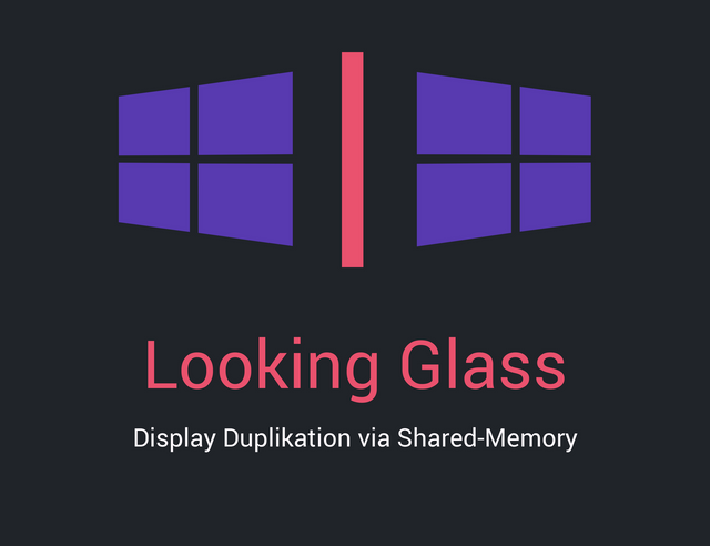 Looking Glass - VM Display Duplikation via Shared-Memory