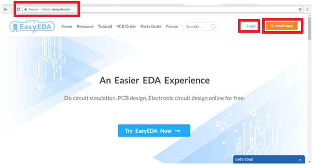 Getting started with EasyEDA | A tutorial guide how to open EasyEDA ...