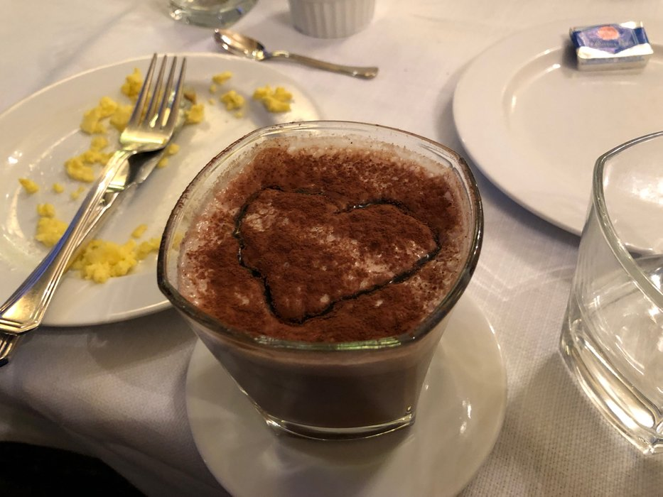 Cold chocolate drink for breakfast - HT6 Boutique Hotel, Rome
