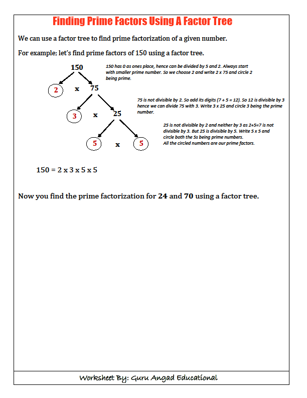 FINDING GREATEST COMMON FACTOR GCD Steemit – Greatest Common Factors Worksheet