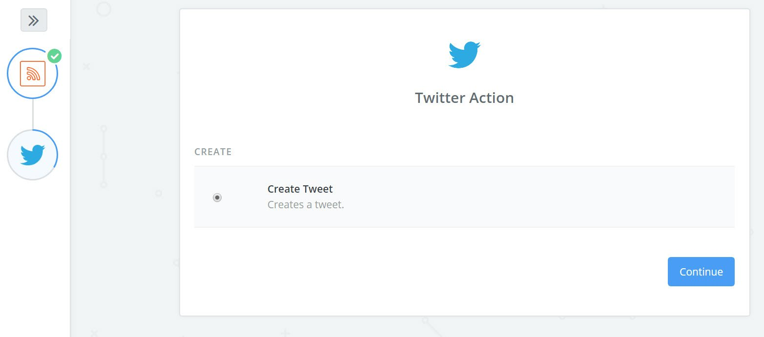 create a tweet from steemit.com to twitter with zapier.jpg